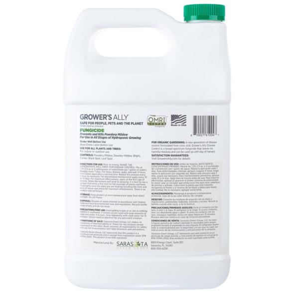 GA Fungicide Gallon Back