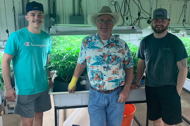 The Cowboy Cannabis Pharm team